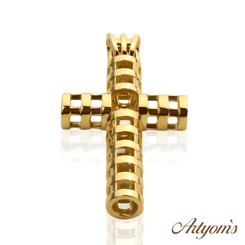 My gold cross