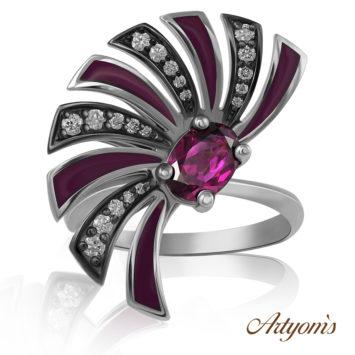 Purple whirlwind